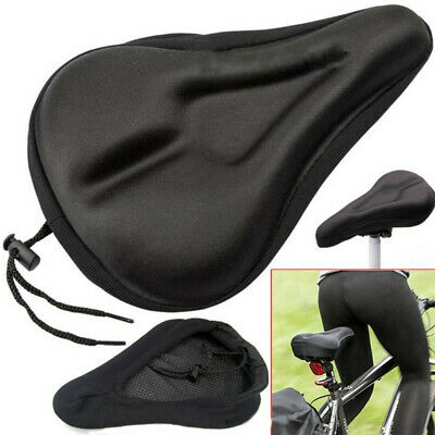 Bike EXTRA Comfort Soft Gel Pad Comfy Cushion Saddle Seat Cover Bicycle Cycle • 7.69£