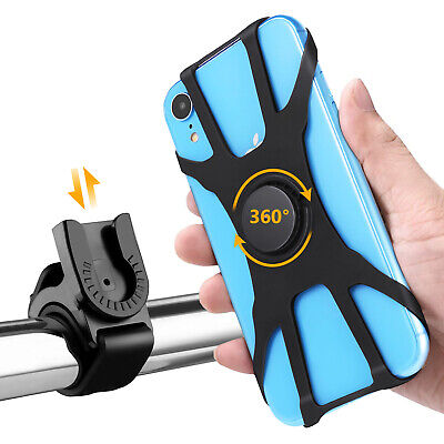 Hompo Bike Phone Holder Cycling Handlebar Bicycle Mount 360 Degree Rotating • 6.99£
