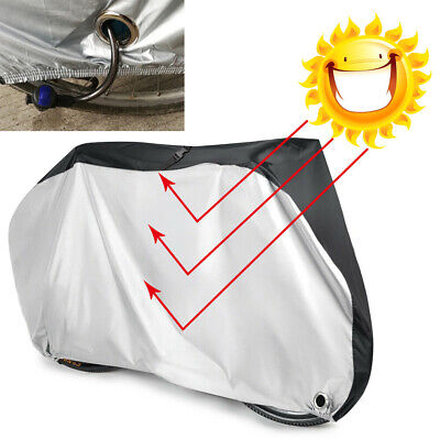 Outdoor Waterproof Heavy Duty Anti UV Rain Dust Bicycle Mountain Bike Cover +Bag • 11.49£