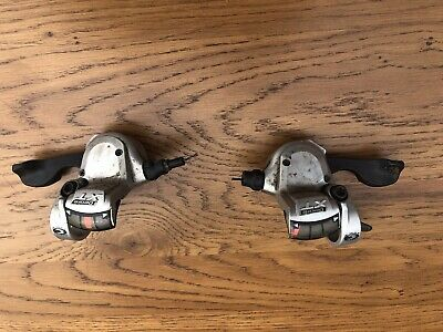 Front And Rear 9spd Shimano XT Shifter Pods M751 With Indicator Windows • 7.50£