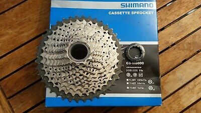 Shimano Deore XT 11 Speed Cassette (CS-M8000), 11-40, Used Once • 41£