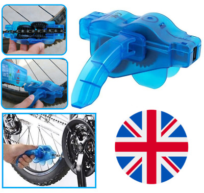 Bicycle Bike Chain Cleaner Bike Maintenance Tool Chain Cleaning Brushes • 5.95£