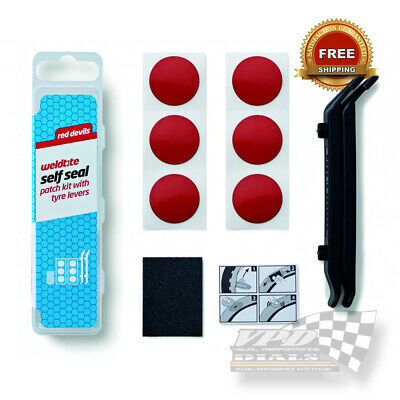 Bicycle Tyre Bike Cycles Puncture Repair Kit Tubeless Self Seal Patch Weldtite  • 5.99£
