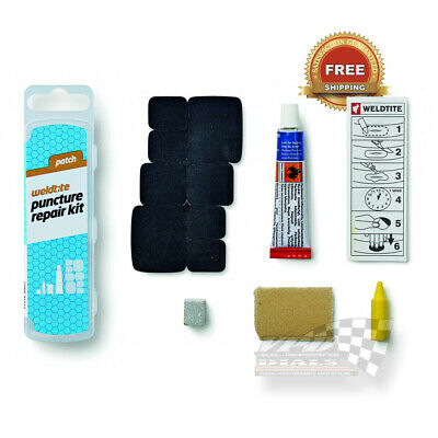 Bicycle Tyre Bike Cycles Puncture Repair Kit Tubeless Patch Weldtite  • 4.50£