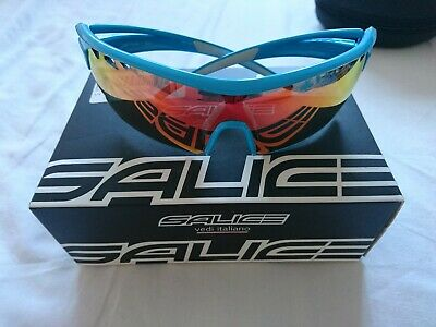 Salice 006 RW Turquoise Sunglasses With 2 Lenses And Box  • 19.99£