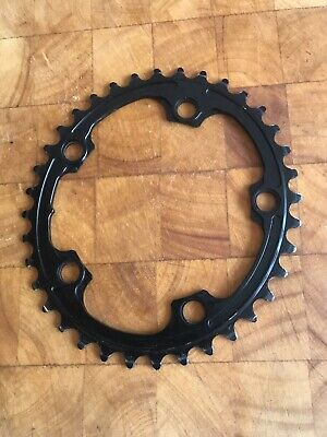 Absolute Black 36T 110/5 BCD Premium Oval Road Chainring • 4.99£