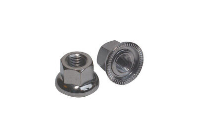 Weldtite Quality Track Nuts For Bike Wheel Axles 9mm 10mm 14mm • 2.89£