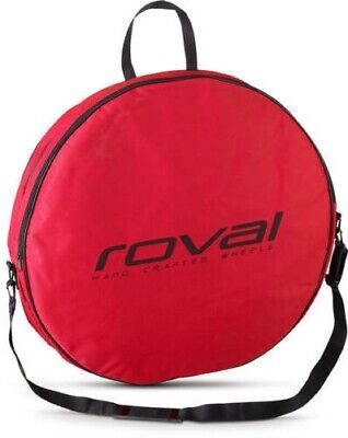 Roval Double Bicycle Wheel Bag - Travel Bag - Red - Excellent Condition • 20£
