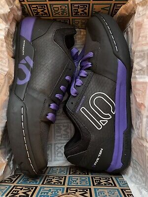 Adidas Five Ten Freerider Contact Womens Black/Purple Size UK 9 New With Box • 45£