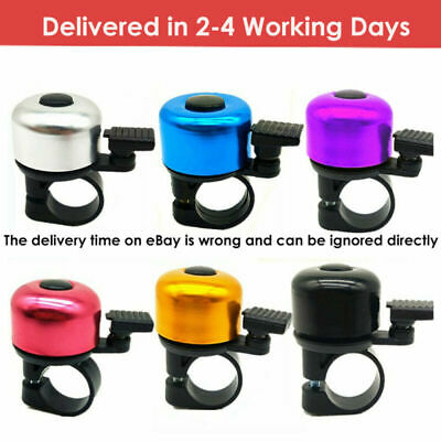 Sporting Goods Cycling Bike Accessories Bicycle MTB Scooter Safety Bell Horn UK • 3.19£