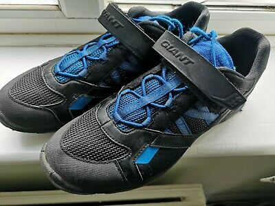 GIANT UK 11 Sojourn Mens Mountain Bike / Cycling / SPD Shoes Black / Blue EU 46 • 34.95£