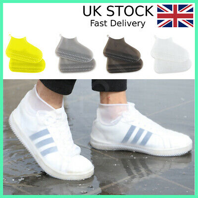 Silicone Overshoes Rain Waterproof Shoe Covers Boot Cover Protector Recyclable • 4.99£