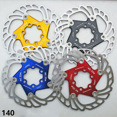 Bicycle Brake Disc Floating Rotor MTB Road Bike With T25 Bolts 140/160/180/203mm • 14.11£