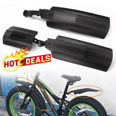 Bicycle Bike Front Rear Mudguard Cycling Bike Fender Tire For 20/26  Fat S1B0 • 7.38£