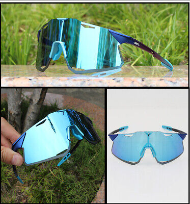 100% UV400 Goggles HYPER Polarized Cycling Glasses Bike Driving Sunglasses • 18.87£