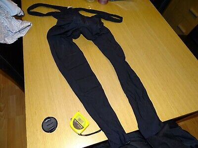 Gore Bike Wear Cycling Thermal Bib Tights - Size Large - With Pad • 16£