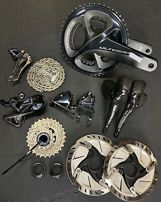 Shimano Ultegra Groupset RD-R8000 Mechanical With Hydraulic Brakes - 50/34 172.5 • 800£