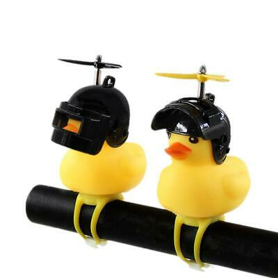 Yellow Duck Bicycle Bell Motocycle Handlebar Bell Mountain Bike Head Light • 4.95£
