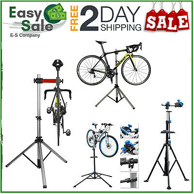 Heavy Duty Home Mechanic Mountain Bike Cycle Bicycle Repair Stand Workstand E9D8 • 57.59£