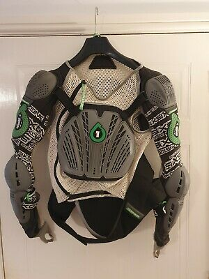 661 SixSixOne Comp Pressure Suit Body Armour, Adult Large • 5.50£