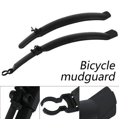 """Front & Rear 26"""" Mudguards Fender Mountain Bike/bicycle Cycling Mud Guards Set  • 7.59£"""