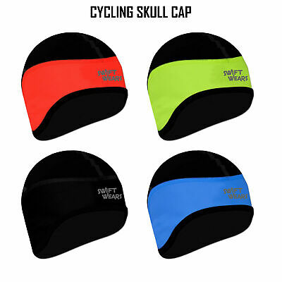 Cycling Skull Cap Winter Under Helmet Cycle Windstopper Thermal One Size • 4.49£