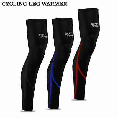 Cycling Soft Leg Warmers Winter Thermal Roubaix Running Cycle Knee Lightweight  • 6.99£