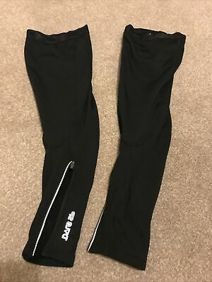 Dare 2b Leg Warmers For Cycling, Zip Ankle, Black, M/L, New • 0.99£