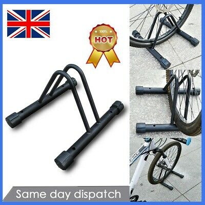 Cycle Bicycle Bike Parking Rack Floor Stand Steel Pipe Storage Wall Mount Holder • 12.39£