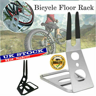 Bicycle Floor Parking Rack MTB Road Mountain Bike Cycling Repair Display Stand • 12.79£