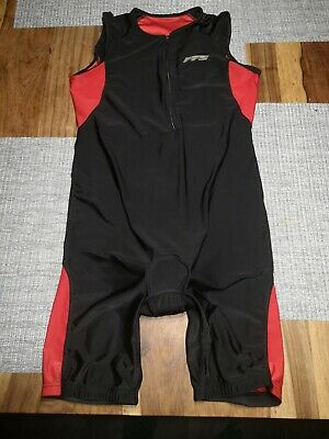 * Cycling Suit Black / Red Large • 5.50£