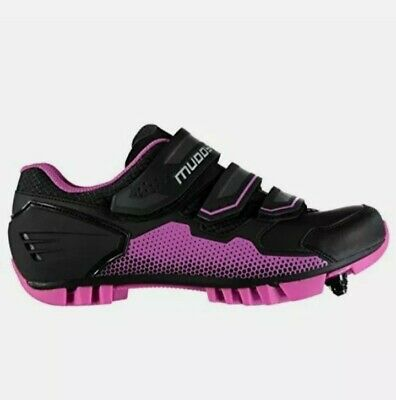 Womens Muddyfox Cycling Shoes Mtb100 Cycle Shoes Size 7 • 25£