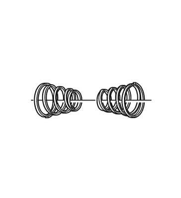 Quick Release Skewer Spring For Shimano QR Hubs X1 • 2.99£