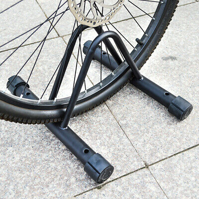 Cycle Bicycle Bike Parking Rack Floor Stand Steel Pipe Storage Wall Mount Holder • 9.99£