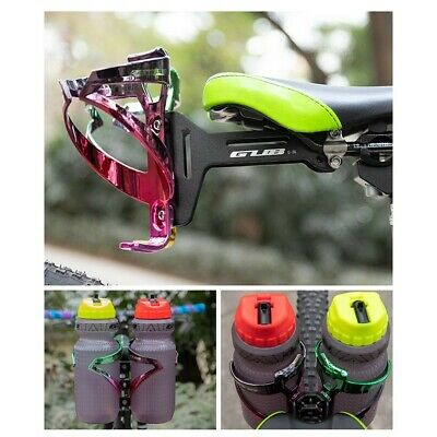 Mount Cage Conversion Seat Double Water Bottle Saddle Extension Bracket Hot Sale • 18.66£