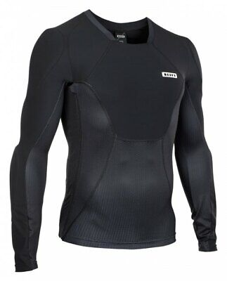 ION Protection LS Scrub AMP Jersey - Mountain Bike Upper Body Armour Black • 159.95£
