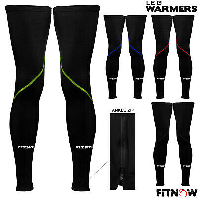 Cycling Leg Warmers Thermal Roubaix Knee Running Winter Cycle Warmers S/M - L/XL • 5.99£