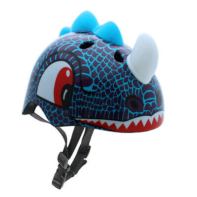 Kids Dinosaur Helmet Boys Safety Cycling Scooter Bike Helmet For Ages 3 And Up • 23.99£