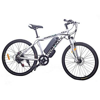 Cyclamatic Power Plus Cx1 Electric Mountain Bike W/ Lithium-Ion Battery • 629.99£