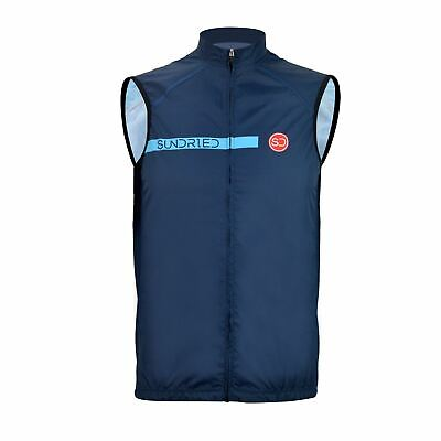 Sundried Pro Cycling Gilet Lightweight Waterproof Cycling Vest Sport • 30£