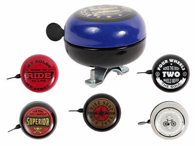 Vintage Retro Style Ding Dong Metal American Bicycle Bike Bell Sports • 7.95£