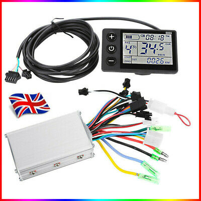 24-48V LCD Electric Bicycle E-bike Motor Scooter Brushless Speed Controller Kit • 38.99£