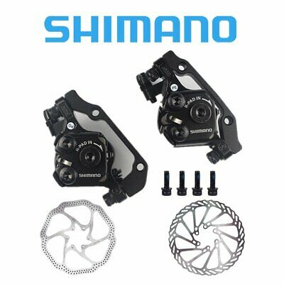 Shimano BR-M375 Mechanical Disc Brake Front&Rear Calipers, Rotors OPTIONAL • 59.99£