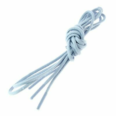 Lace Up Round And Fine Cotton 2,5mm - Blue • 2.65£