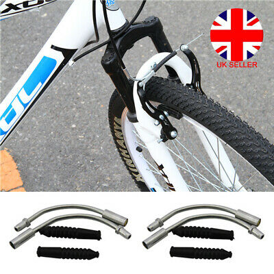 4 X Bike Bicycle V Brake Noodles Cable Guide Pipe Boots Front Rear Mountain Bike • 2.61£