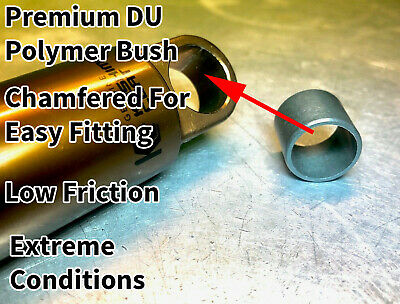 MTB Rear Shock Premium DU Bush Low Friction Igus Bushing-NEW • 4.25£