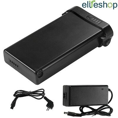 Black 24V10Ah Electric Bicycle Pedelec Lithium-ion Battery For Prophete,Mifa • 141.99£