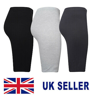 Womens Cycling Shorts Dancing Gym Biker Hot Pant Leggings Stretchy Casual Sports • 4.45£