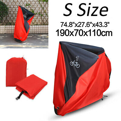 Waterproof Mountain Bike Bicycle Rain Cover Heavy Duty Dust UV Protector Outdoor • 11.07£