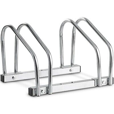 VonHaus Dual Bike Stand/Rack - Wall Or Floor Mountable With Space For 2 Bikes • 16.99£